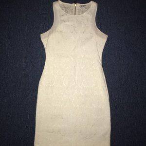 Guess creme colored dress